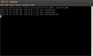 PHP WebSocket Server
